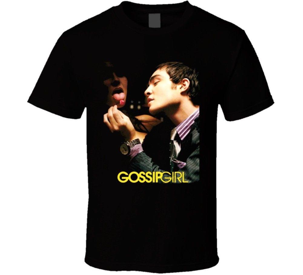 Gossip Girl (Tv) T Shirt Cotton T-Shirt Fashion T Shirt Free Shipping Short Sleeve Hip Hop Tee T Shirt top tee