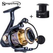 Sougayilang 13+1BB Fishing Reel 5.1:1 / 5.5:1 Spinning Reels Left/Right Interchangeable Handle Metal carp Fishing Tackle