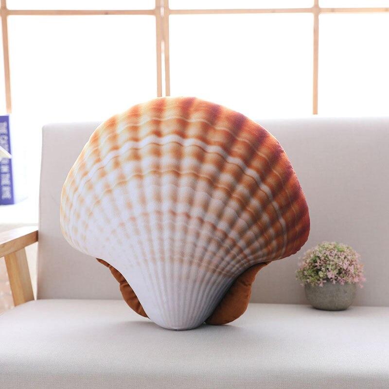 kawaii travesseiro mar tema macio travesseiro
