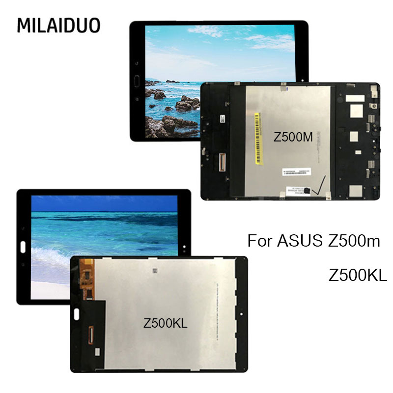 Replacement Black For ASUS ZenPad 3S 10 Z500KL P001 Touch Screen Digitizer Glass