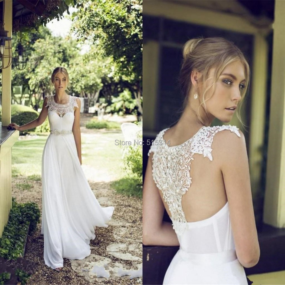 outdoor casual wedding dresses | Dress images