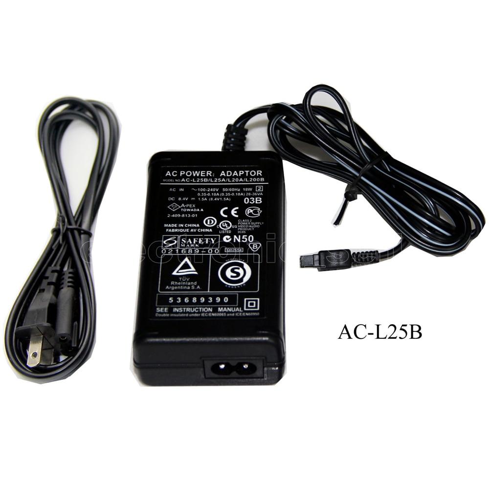 AC Adapter for Sony DCR-DVD115E ac Sony DCR-DVD410E Sony DCR-DVD310E ac