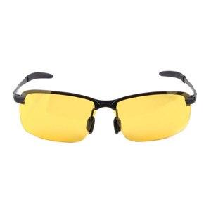 Image 3 - Outdoor Riding Sunglasses women Men Reflective Night vision Anti glare Goggles UV400 Car sunshade Plarization Sunglasses Women