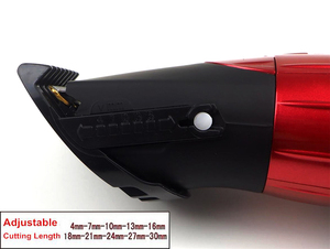 Image 3 - מקצועי חשמלי שיער קליפר נטענת שיער גוזם שיער מכונת חיתוך כדי תספורת זקן Trimer עמיד למים