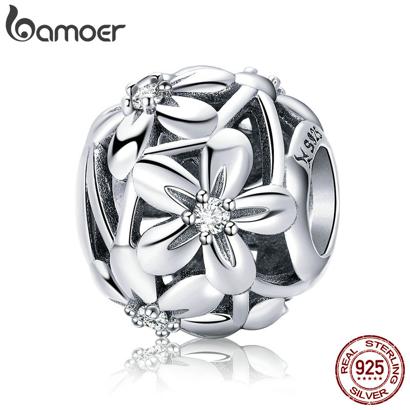 Home Improvement Painting Supplies & Wall Treatments Sporting Flower & Gem Charm Bead 925 Sterling Silver New Fits European Bracelets
