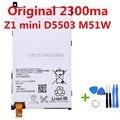 Bateria para sony xperia z1 compact z1 mini d5503 original2300mah M51W LIS1529ERPC Com 7 em 1 Reparação Abertura de 3.8 V De Lítio ferramentas