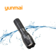 Powerful XML T6 XM-L2 LED Tactical Torch Portable LED Flashlight Lantern use 1×18650 OR 3xAAA Rechargeable Battery Hunting Light