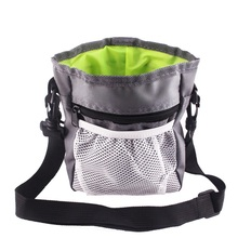Drawstring Pocket Portable Pet Dog Pouch Walking Food Treat Snack Reward Bag Training Pockets Waist Storage Tool