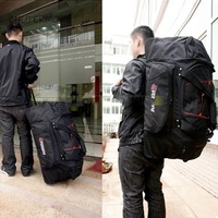 Mountaineering large volume Travel Bags Men Business Oxford Rolling Luggage Women Suitcase Wheels 20 inch Carry On bags