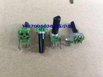 2PCS/LOT Taiwan ALPHA Hua brand R09 type potentiometer, A20K axis long, 17MM half shaft