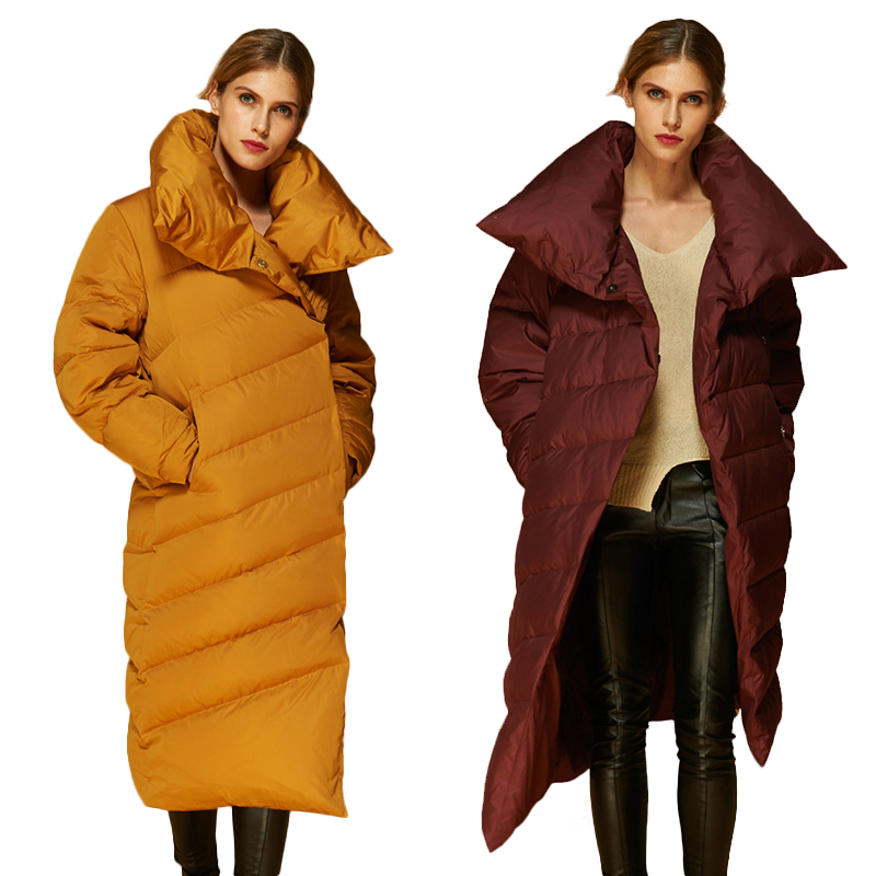 Popular Full Length Goose Down Coat-Buy Cheap Full Length Goose ...