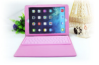 Soft Silicone Waterproof Wireless Bluetooth Keyboard For Ipad AIR Coloured Computer Keyboard For Ipad Air 2
