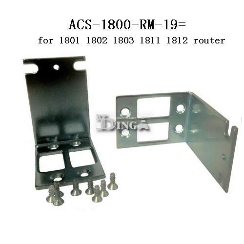 Free shipping ACS-1800-RM-19 RACK MOUNT KIT for cisco 1801 1811 1812 1802  CCIE CCNP LAB RACK BRACKET EAR