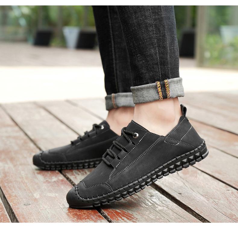 HTB1aOdeayzxK1RkSnaVq6xn9VXam - 2019 New Fashion Leather Spring Casual Shoes Men's Shoes Handmade Vintage Loafers Men Flats Hot Sale Moccasins Sneakers Big Size