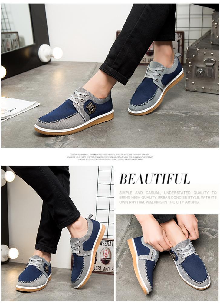 2c57818ea5f Smerilli 2018 Spring Fall New Breathable Shoes Men Comfortable ...