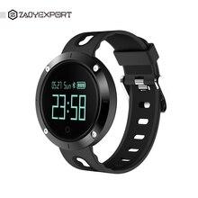 Zaoyiexport DM58 smart Сердечного ритма крови Давление часы IP68 Спортивный Браслет Смарт фитнес-трекер для IOS Android