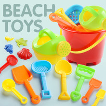 beach toys SandBox Set Sea sand bucket Water Table play Swimming Pool and fun Shovel molds tiny love for children summer Game(China)