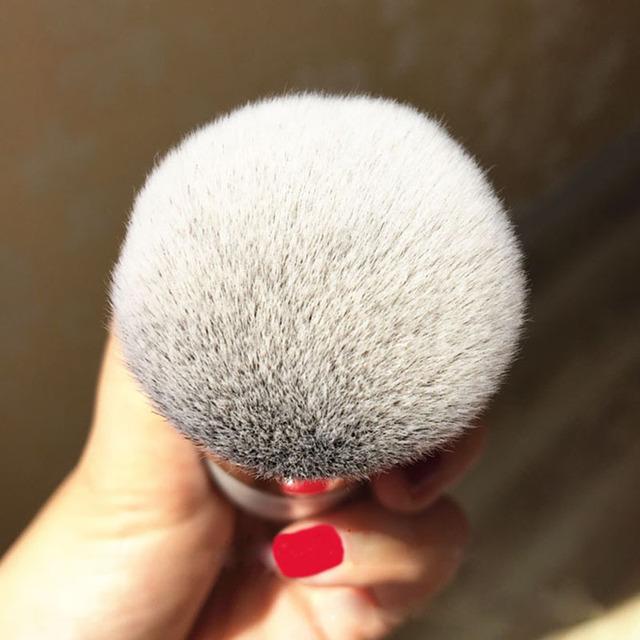 Newly high quality Chubby Pier Foundation Brush Flat Cream Makeup Brushes Super soft Professional Cosmetic Make-up Brush YF2017