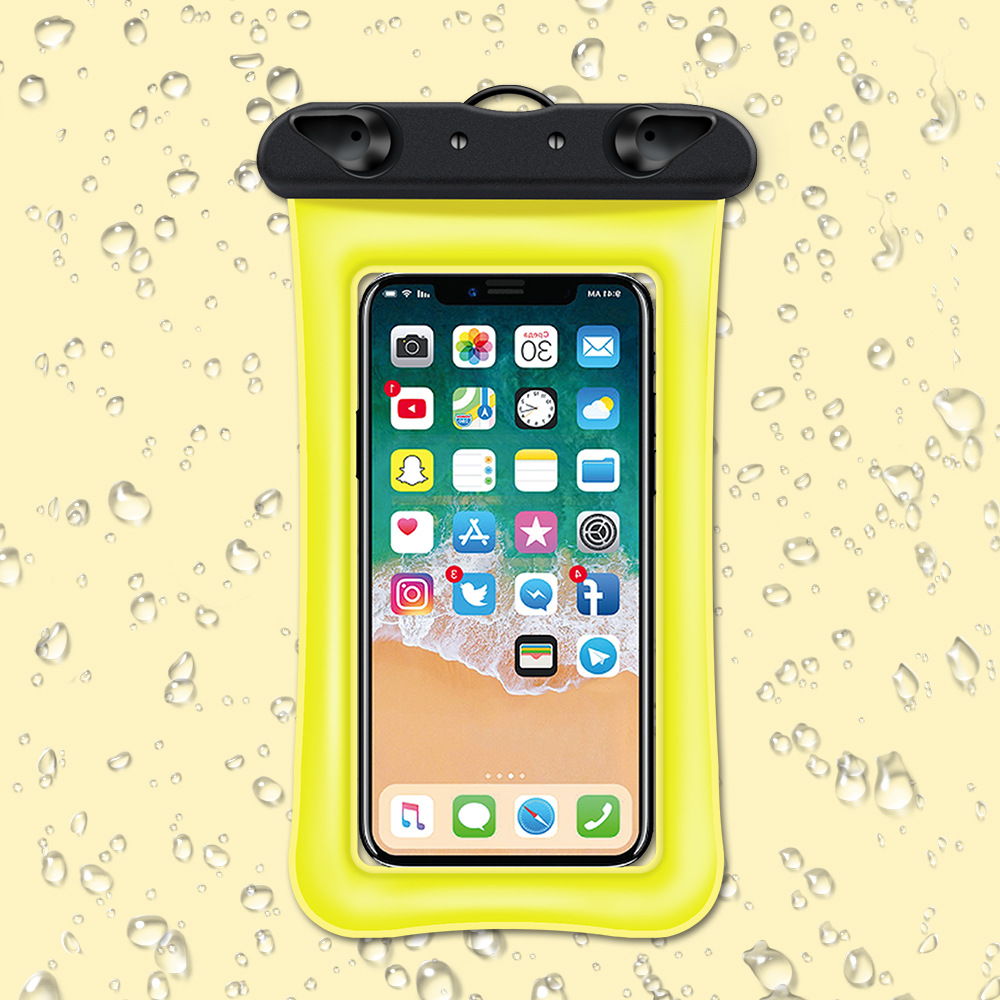 Waterproof floating phone case pouch 1