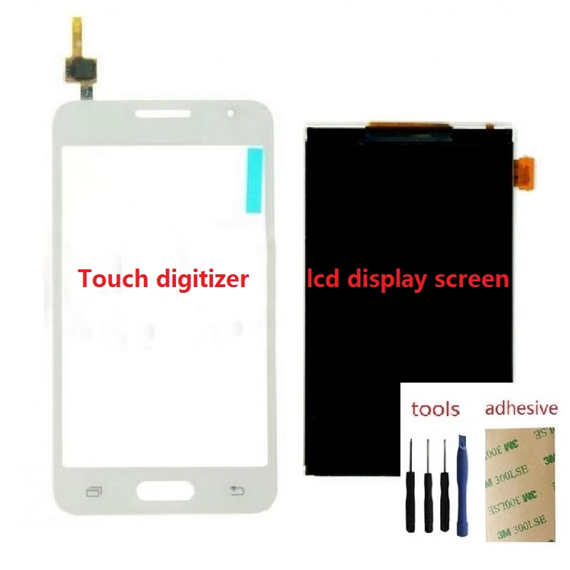 Image 2 - Touch Screen Digitizer Sensor LCD Display Screen For Samsung Galaxy Core 2 SM G355H/DS G355H G355F-in Mobile Phone LCD Screens from Cellphones & Telecommunications