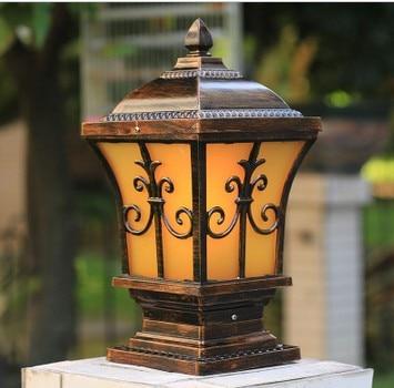 Retro Outdoor Lamp Posts Kichler 49573WZC Ashland Bay Retro