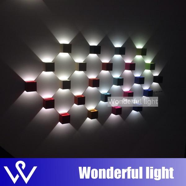 led wall light lamp 1W spot led light effect modern led