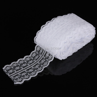 45mm width cheap lace fabric trim ribbon 10yard lot diy garment accessories embroidered lace ribbon bilateral.jpg 200x200