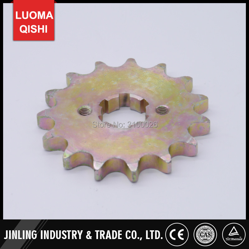 15T Sprocket Fit For GY6 CVT 150CC 200CC Engine 530# Chain Drive China ATV UTV Go Kart Buggy Quad Bike Scooter Motorcycle Parts
