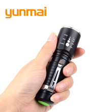 Powerful 3800 Lumen Tactical Led Flashlight CREE xml T6 Led 3xAAA 18650 Waterproof Flashlight Strong Flash Light Hunting Torch