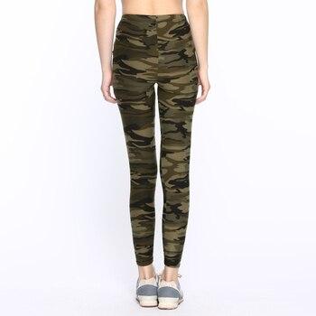 Sexy Camo Pants Camouflage Printed Leggings Women Autumn Jeggins Ladies Fitness Cotton Legging Green Leeging Jegging Fall 2019 2