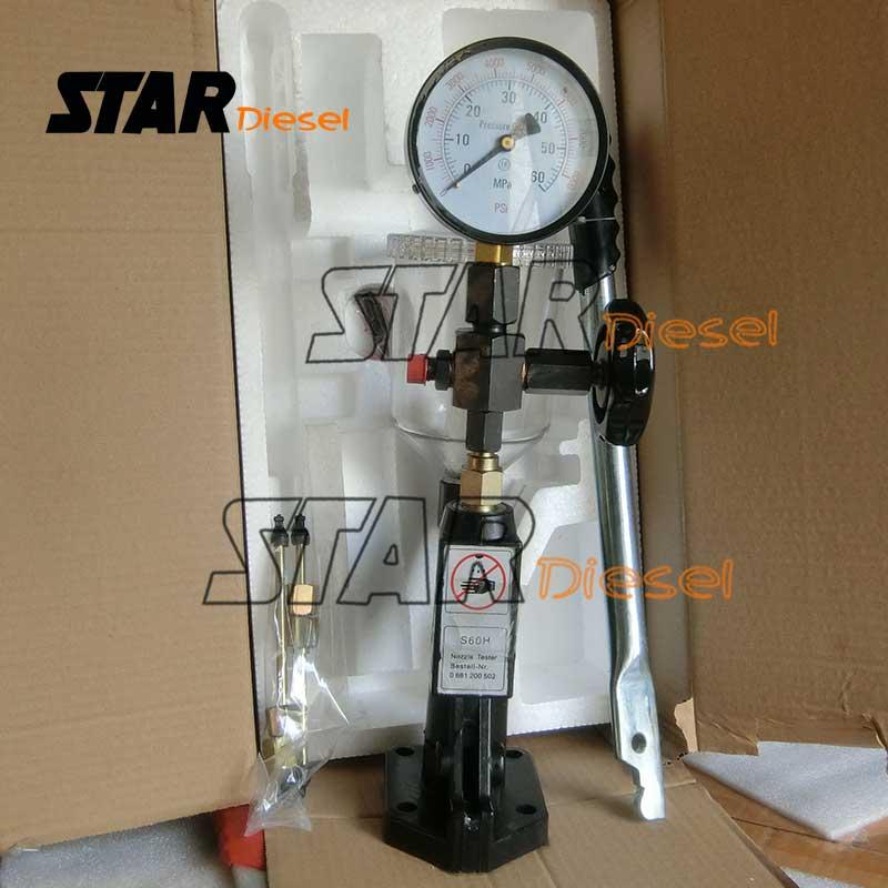 Test d'injecteur SH60 et étalonnage d'essai d'injecteur Diesel, étalonnage d'injecteur de pompe et testeur de buse d'injecteur piézo-électrique