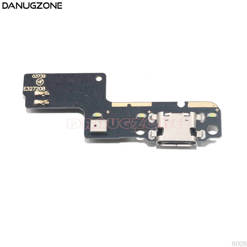 USB Charging Port Dock Plug Socket Jack Connector Charge Board With Microphone Flex Cable For ZTE V7 MAX V7Max