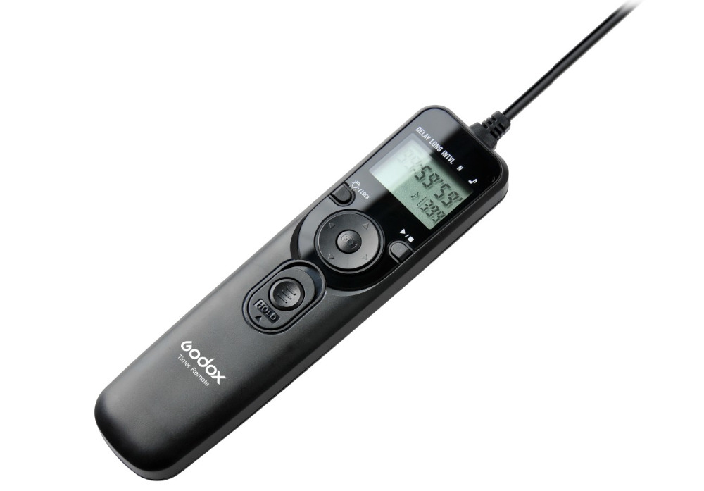 Original Godox ITR-C3 Remote Controller Shutter Release With C3 Cable LCD Timer Shutter Re