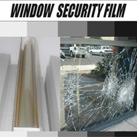 8MIL safety and security window film for car window or building window glass 5FTx100FT/ROLL