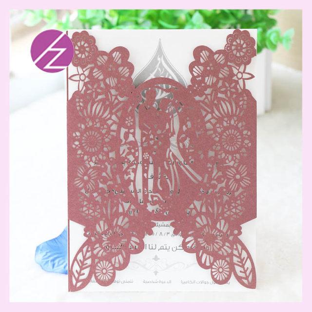 12pcslot romantic and sweet love beautiful wedding card wholesale reasonable price wedding invitation cards qj 157