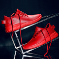 Sports casual shoes  men's 2016 autumn red shoes all-match  lovers shoes