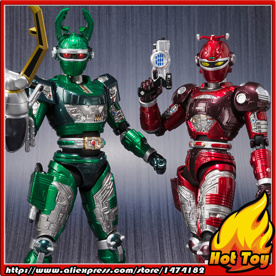 Original BANDAI Tamashii Nations S.H.Figuarts (SHF) Exclusive limited Edition Action Figure - G.STAG & REDDLE Beetle FighterOriginal BANDAI Tamashii Nations S.H.Figuarts (SHF) Exclusive limited Edition Action Figure - G.STAG & REDDLE Beetle Fighter