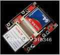 "Dupla UDMA DMA CF A 44 pinos 2.5 ""IDE Adaptador HDD SSD ITX Frete grátis"