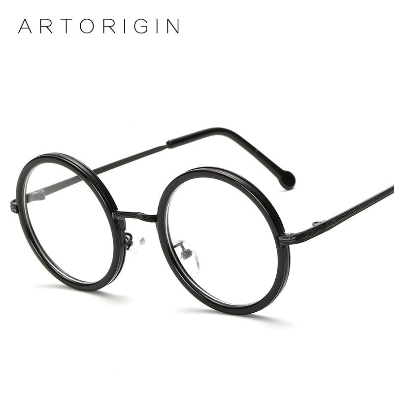 ARTORIGIN Vintage Round Glasses Frame For Women Eyeglasses Brand Designer Eyewear Clear Lens Myopia Glasses Frame AT811