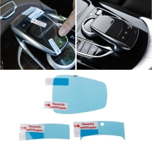 3PCS For Mercedes Benz Center console mouse touch protective film fit for C/E/S/V/GLC/GLE class Drop shipping INY