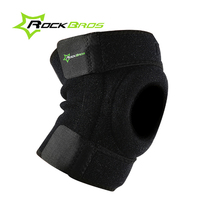 ROCKBROS Knee Pads Black Volleyball/Basketball Kneepad Support Knee Protector Sock Ice Skate Equipment Moto Cover Genouillere 50