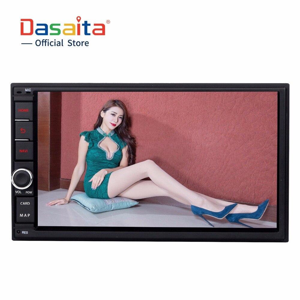 Dasaita 2 DIN Android 6 0 Auto Radio Octa Core 7 Inch Universal font b Car