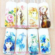 4PCS beauty lol girl design water transfer nail stickers decals nail art decoration manicure tools flower C208-211