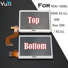 Сенсорный жк-экран YuXi, сменный для Nintendo DS Lite, DSL, NDSL, 3DS, 3DS, XL, LL