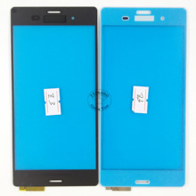 Black/White Touch Screen Digitizer Lens Panel For Sony Xperia Z3 L55T D6603 D6643 D6653 D6616 Replacement Parts