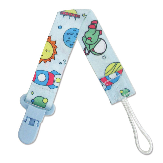 Baby Pacifier Anti-lost Clip Chain Strap Soother Nipple Pacifier Holder Rope BS