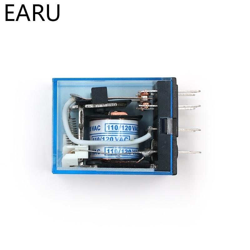 HTB1aOjGr JYBeNjy1zeq6yhzVXap - MY2P HH52P MY2NJ Relay Coil General DPDT Micro Mini Electromagnetic Relay Switch with Socket Base LED AC 110V 220V DC 12V 24V