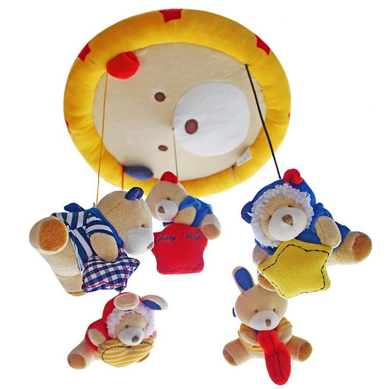 SHILOH Երաժշտական Բջջային օրորոց - Խաղալիքներ նորածինների համար - Լուսանկար 5
