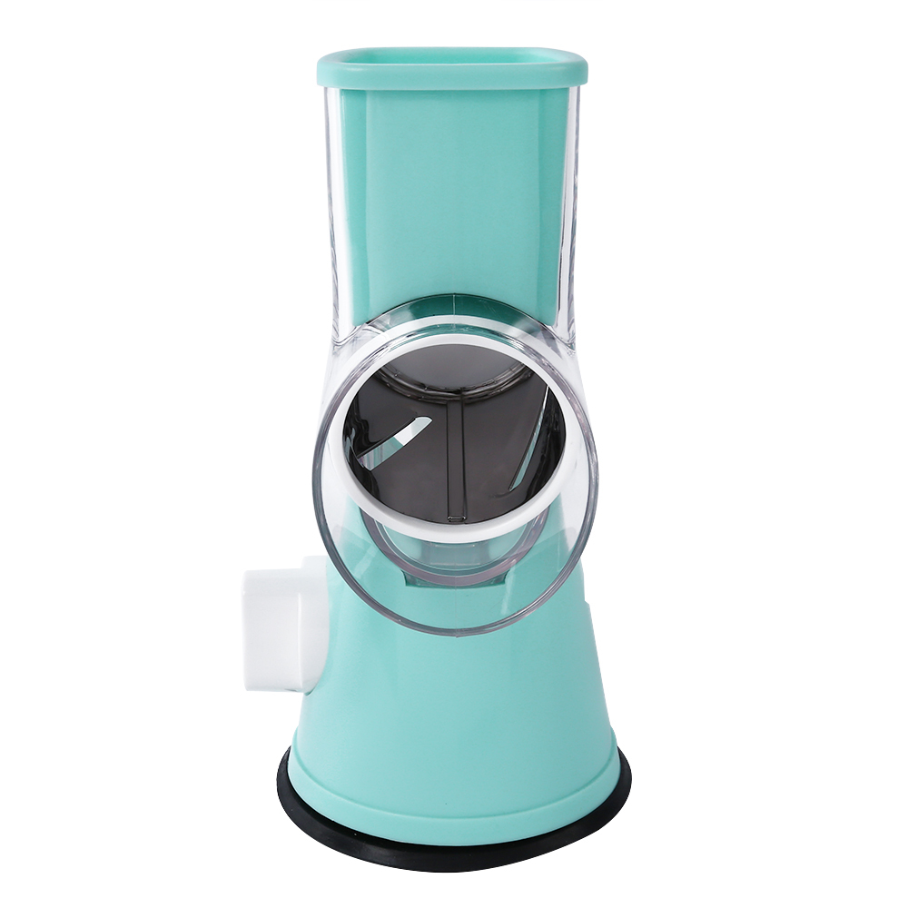 Stainless Steel Drum type Hand operated Vegetable Shredder Device ...