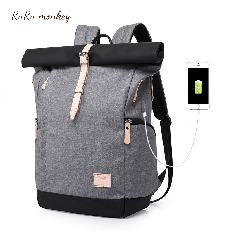 New Men s Backpack Anti Theft Waterproof Women Travel Rucksack 16 Inch Notebook Laptop Backpack Students
